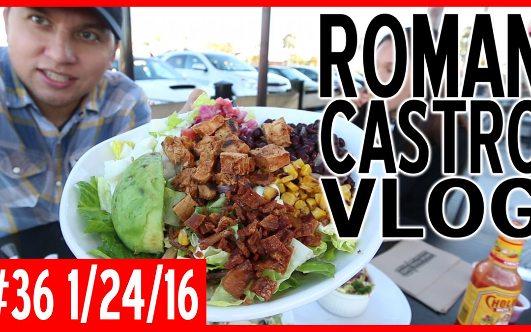 "Vlog #36: ""That's Not Chicken"" Veg Lunch at Native Foods San Diego"