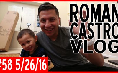 Vlog #58: Let's build and The Spear Podcast Ep. 67