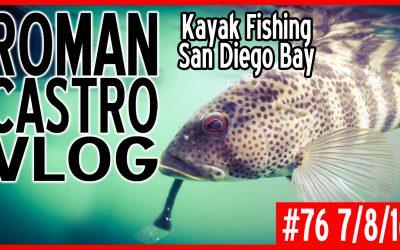 Vlog #76: Kayak Fishing San Diego Bay