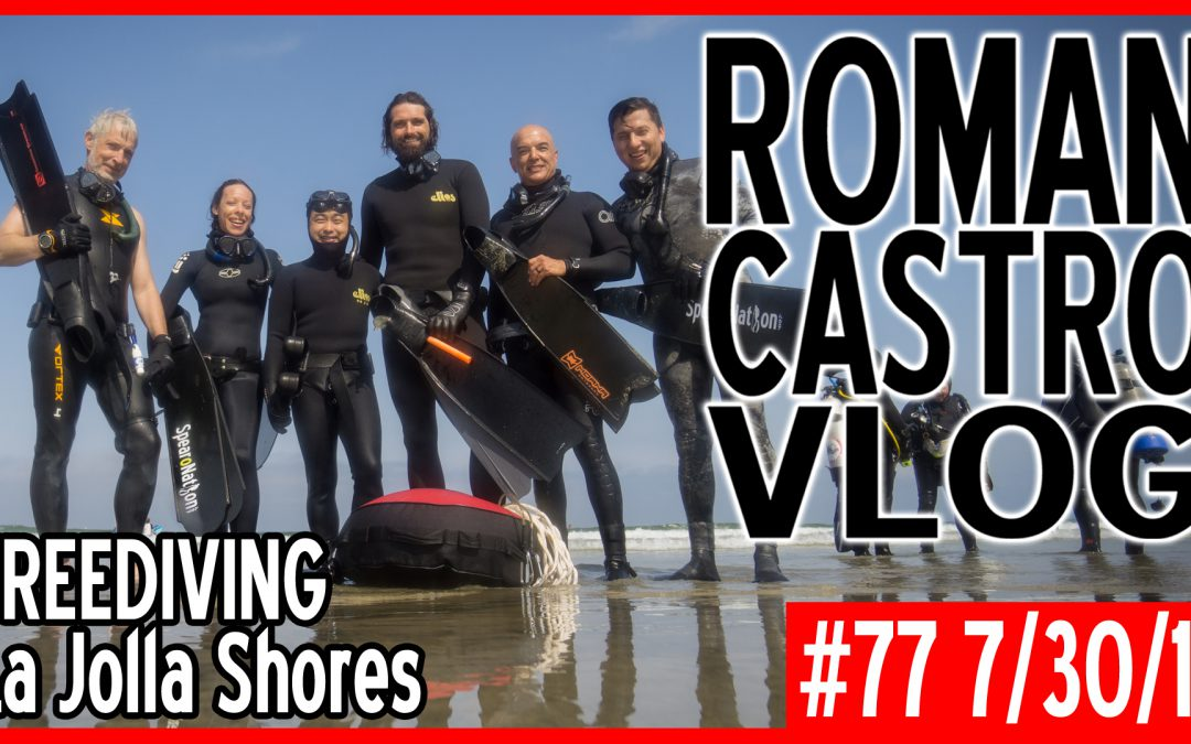 Vlog #77: Freediving La Jolla Shores