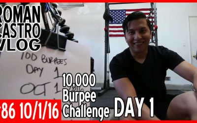 Vlog#86: 100 Burpees for 100 Days Challenge Day 1