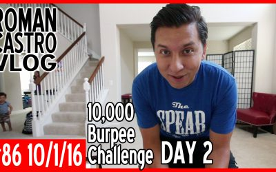 Vlog#87: 100 Burpees for 100 Days Challenge Day 2