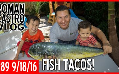 Vlog #89: Ocean to Plate Mahi Mahi (Dorado) Fish Tacos [Sustainable Fishing]