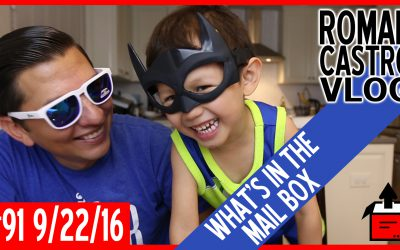 Vlog #91: What's In The Mail Box with Aaron