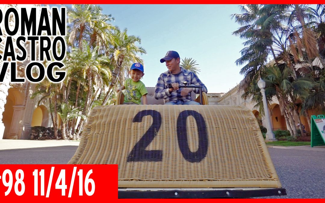 Balboa Park Explorer Pass, 1915 Electriquette (Things To Do In San Diego): ROMAN CASTRO VLOG #98
