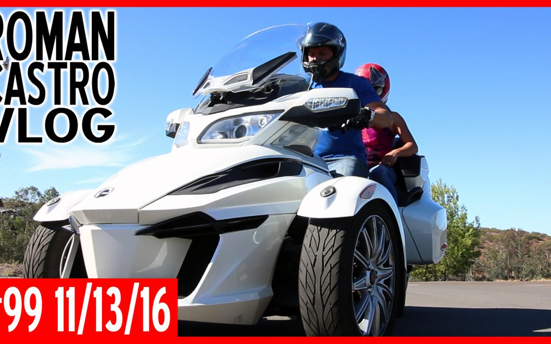 Can Am Spyder Motorcycle Tours San Diego (Vlog #99)