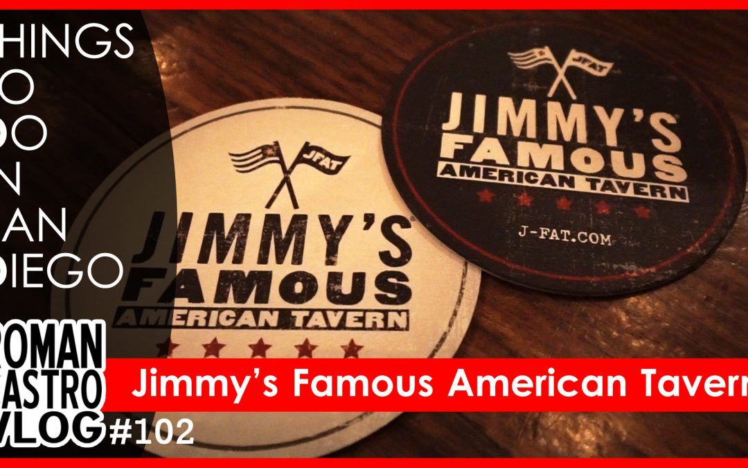 Jimmy's Famous American Tavern (Things To Do In San Diego) San Diego Restaurants: RC Daily Vlog #102
