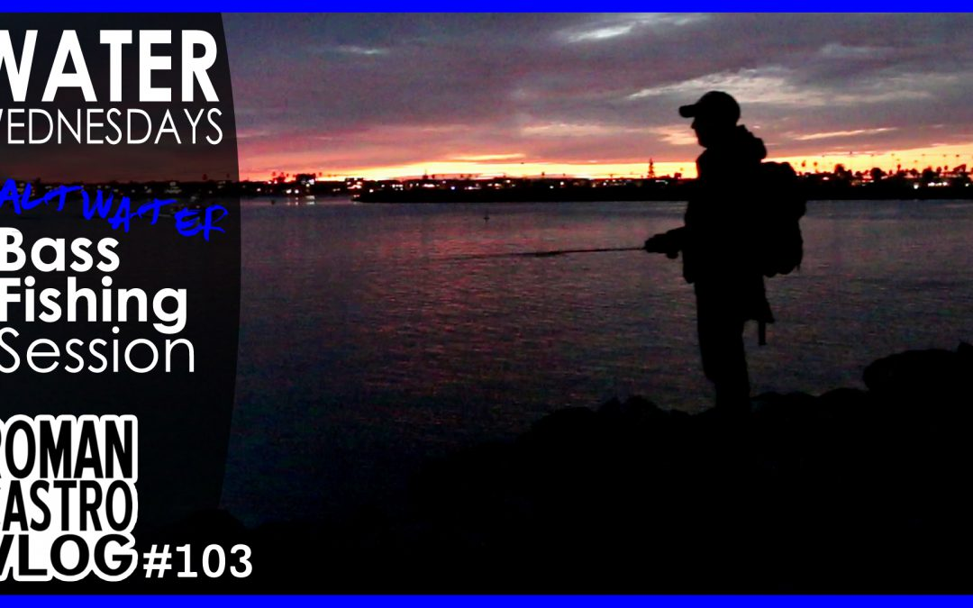 San Diego Fishing Session – No Fish (Shimano Chronarch 150 ci4+): WATER WEDNESDAYS Fishing VLOG #103