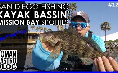 San Diego Kayak Fishing for Mission Bay Spotties