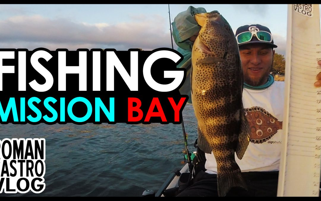 "Salty Bass Trifecta Fishing Mission Bay ""Secret"" Hot Spot"